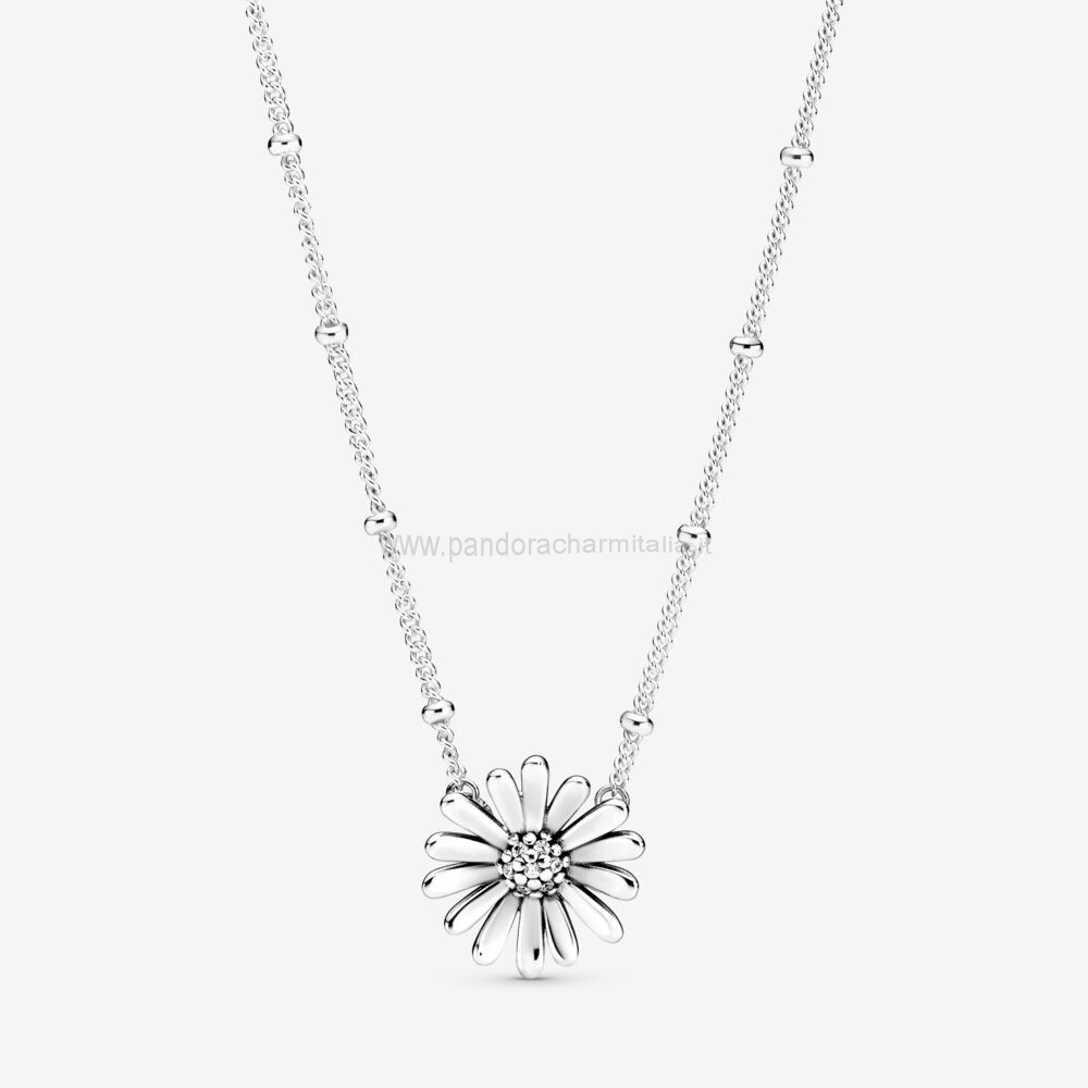Negozi Pandora Finitrice Di Daisy Flower Collane