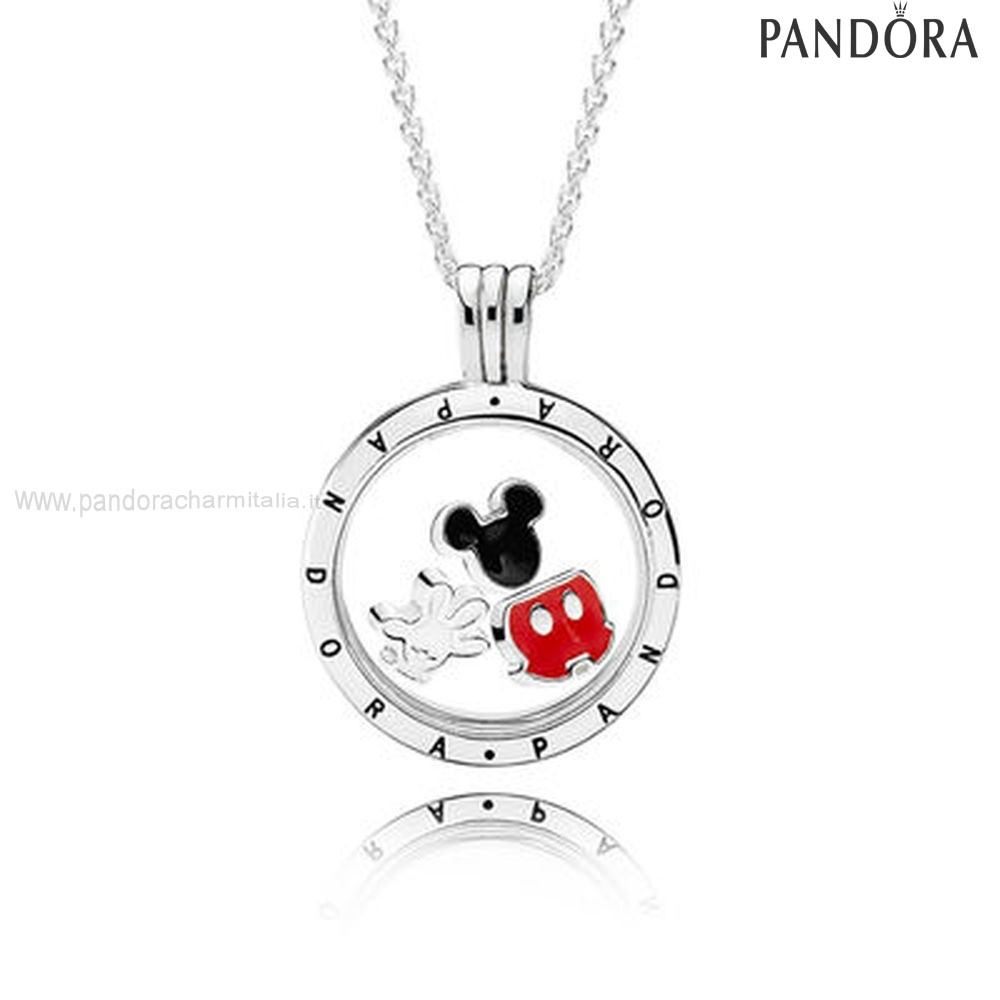 Negozi Pandora Disney Mickey Floating Locket