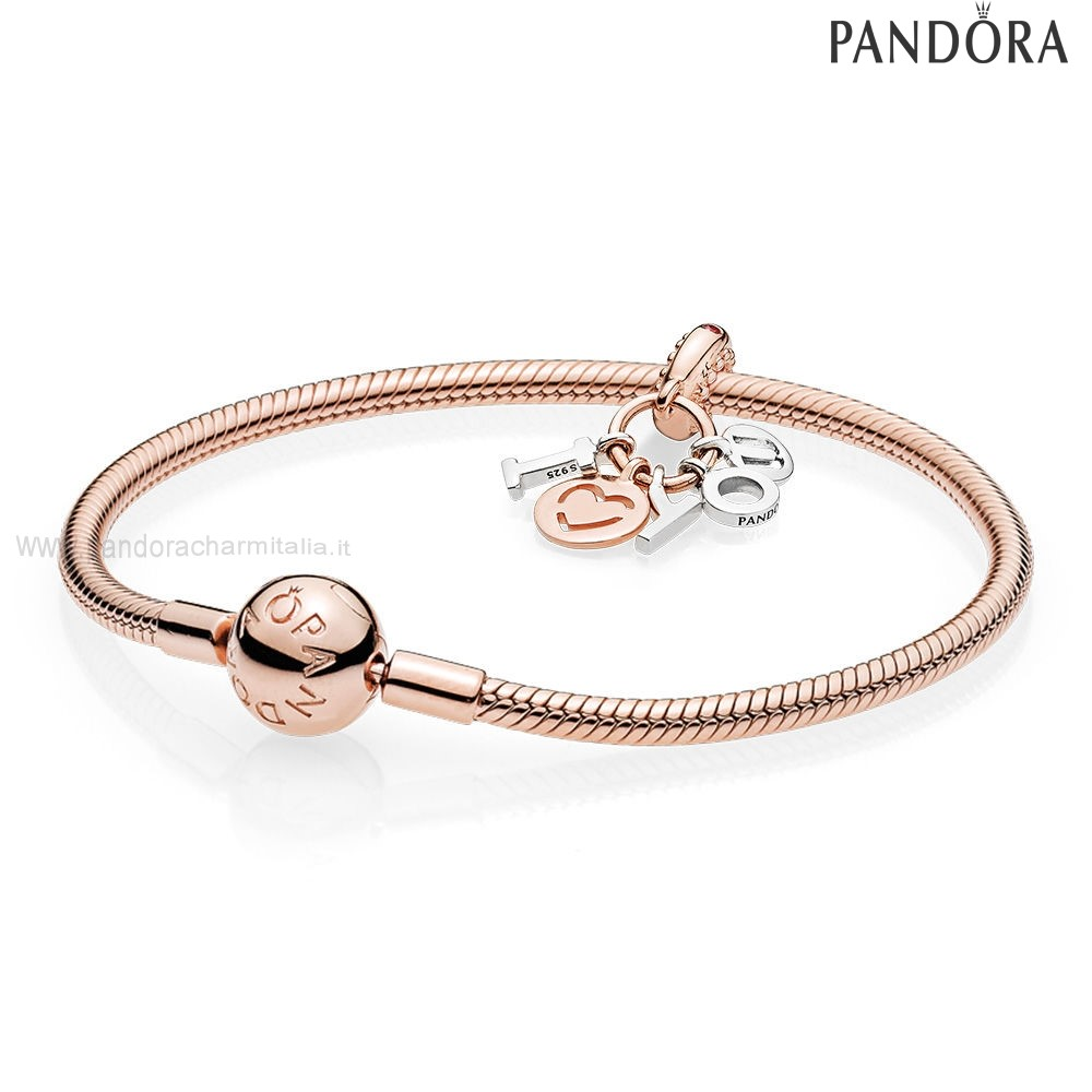 Negozi Pandora I Amore You Bracelet